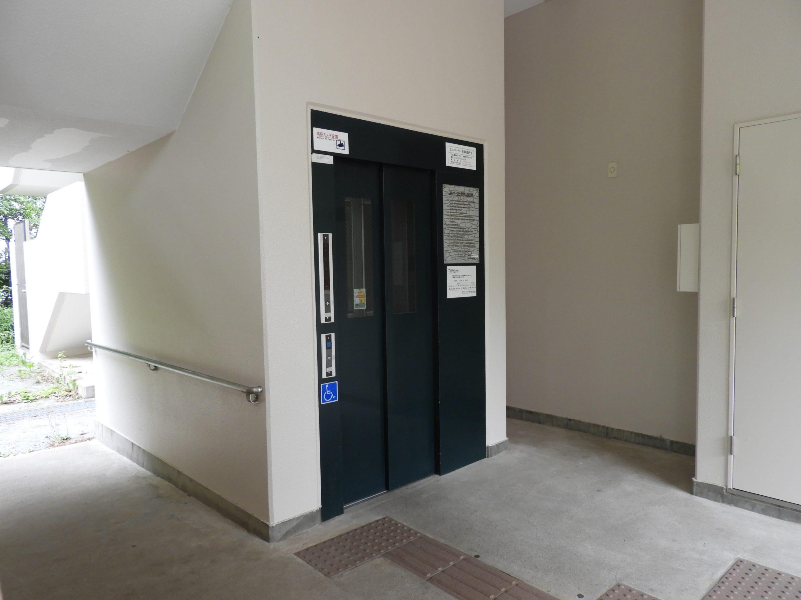 都営住宅にエレベーター設置-1