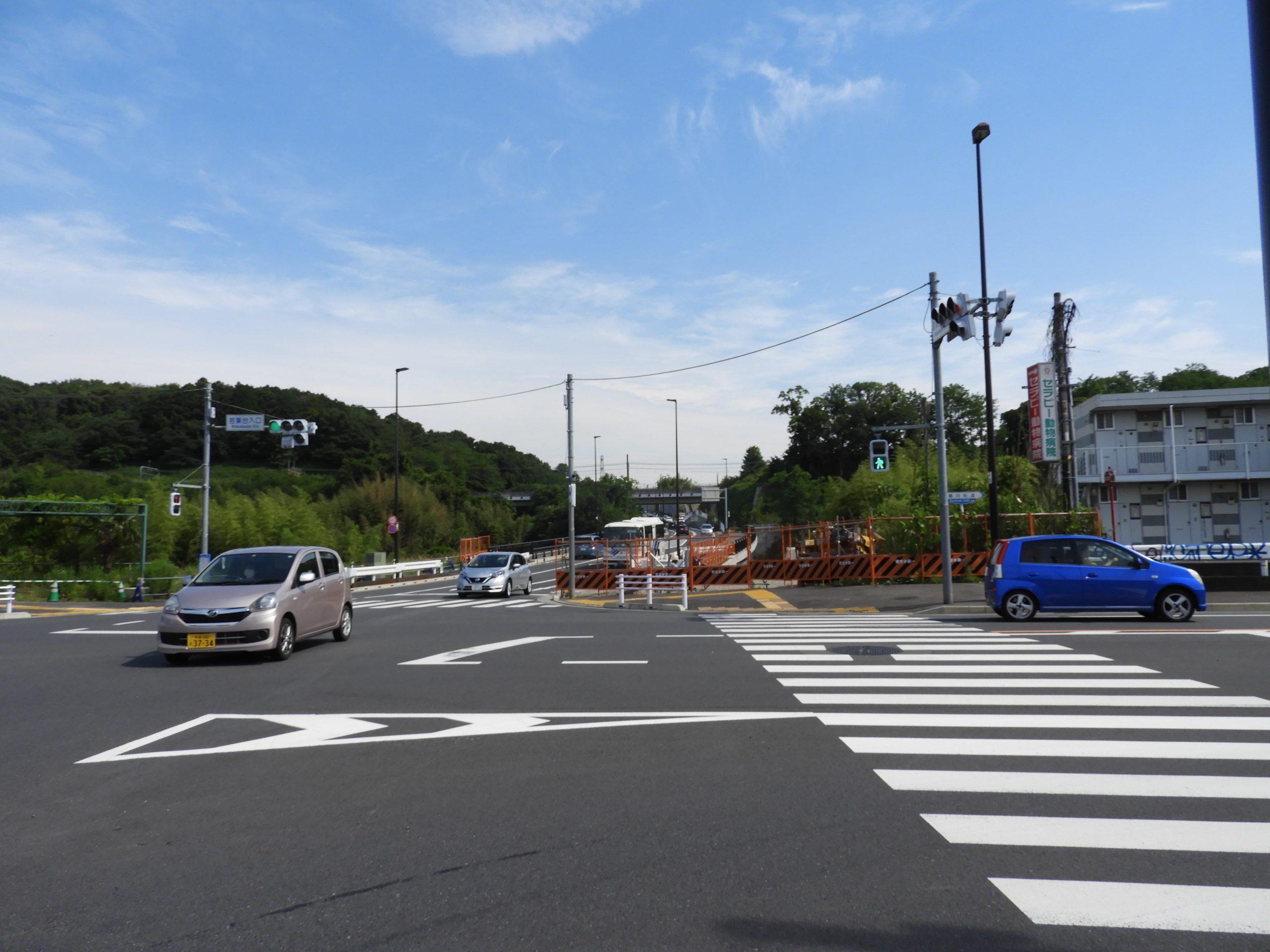 坂浜平尾線の完全開通-1